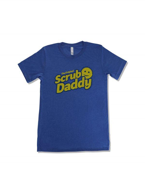 Scrub-Daddy-Blue-Tshirt-Front