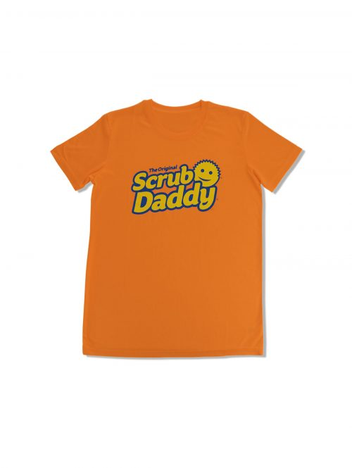 Scrub-Daddy-Adult-Orange-Tshirt-Front